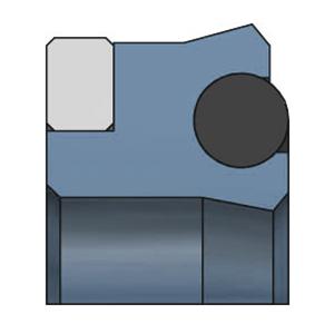 SDW DK104R Kolbenlippenring