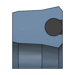 SDW DK107 Kolbenlippenring