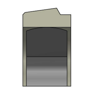 SDW DK238 Kolbenlippenring