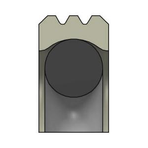 SDW DR116 Kolbenlippenring