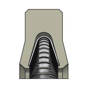 SDW DR118 Kolbenlippenring